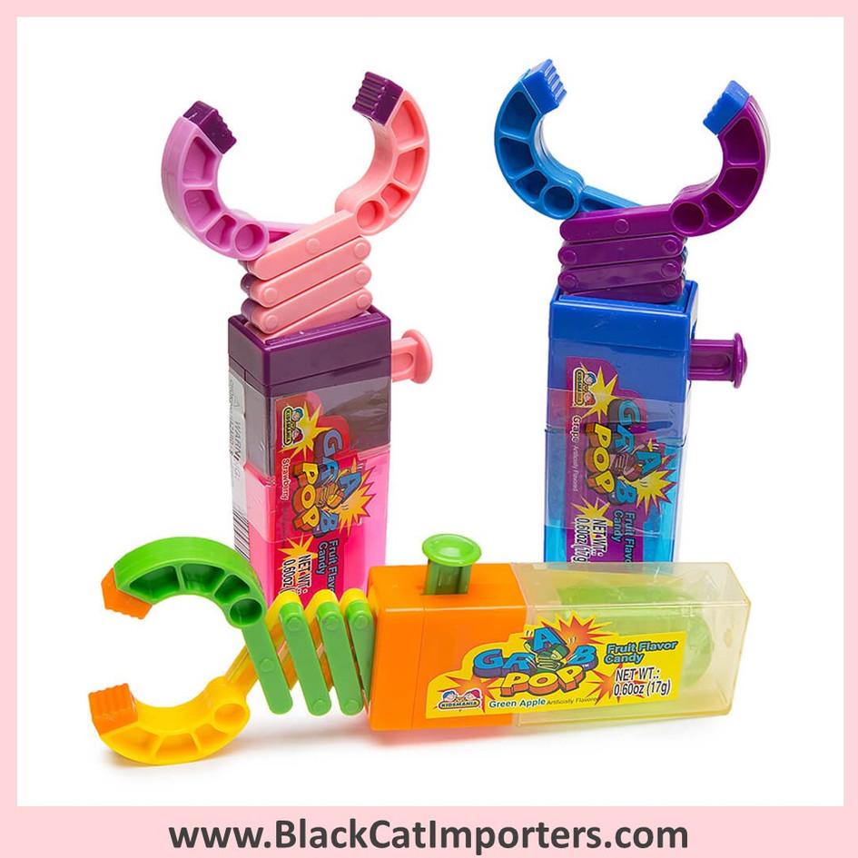 Grab Pop Robot Arm Lollipops 12-Piece Box