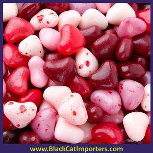 Jelly Belly Bulk Cherry Lovers Hearts 10lbs