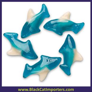 Albanese Blue Gummi Sharks 5lb Bag