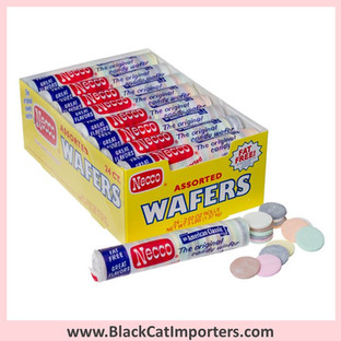 Necco Wafers Candy Rolls / Assorted