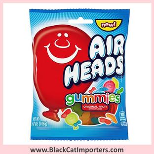 Airheads Gummies Peg 3.8oz 1/12ct