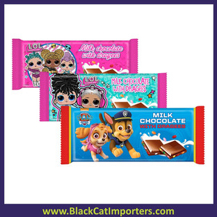Chocolate Bar Mixed Box L.O.L. & Paw Patrol 90g  20ct
