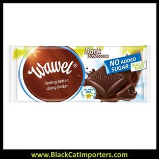 Wawel Sugar Free Chocolate Bars / Dark Chocolate 70% 18ct