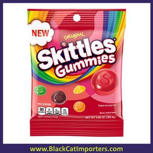 Skittles Peg Bag Gummies Original 5.8oz 12ct