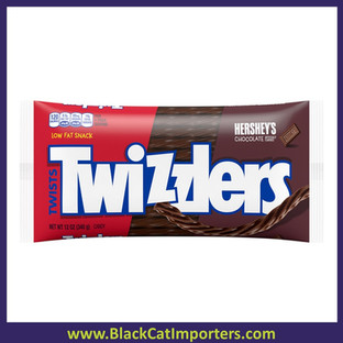 Twizzlers Large Bag Chocolate Twists 12oz 24ct