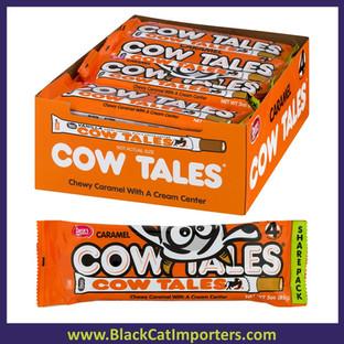 Cow Tales Caramel & Cream Sticks King Size Packs 20ct