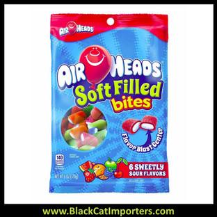 Airheads Soft Filled Bites Peg Bag 6 oz 1/12ct