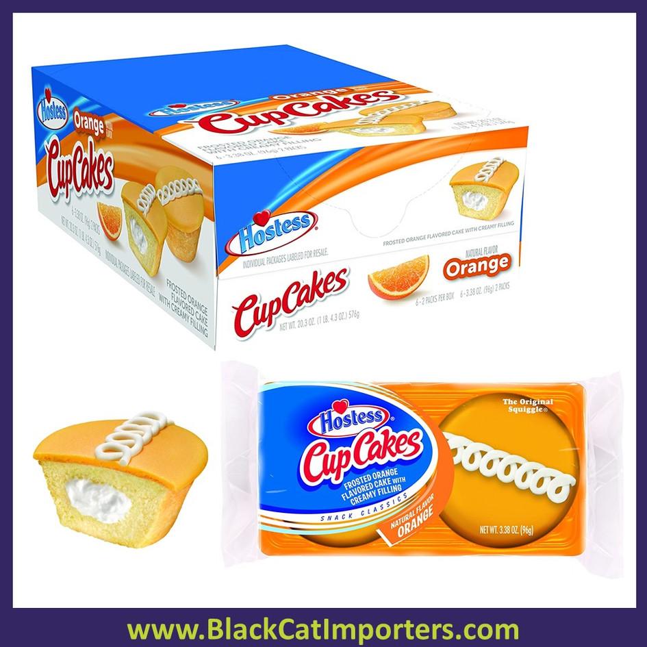 Hostess Cupcakes Orange 2 pk 6ct