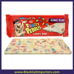 Fruity Pebbles White Chocolate Bar 2.75oz 18ct