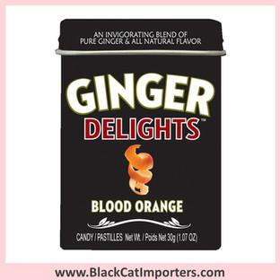 Ginger Delights Hard Candies   Blood Orange