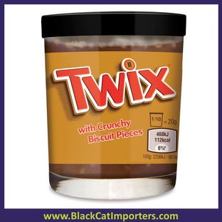 Twix with Crunchy Biscuit Pieces Spread  6ct