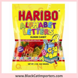 Haribo Gummies / Alphabet Letters / Peg Bag