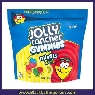 JOLLY RANCHER MISFITS Gummies Pouch 13oz 8ct