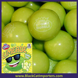 Bulk Dubble Bubble Limeade Gumballs 5lbs Bag