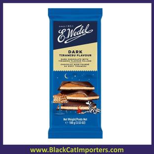 E. Wedel Dark Chocolate Tiramisu 100g 20ct