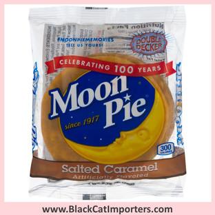 MoonPie Double Decker Salted Caramel 9ct **B.B. 08/22/21**