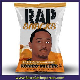 Rap Snacks Honey BBQ (romeo) 24ct 2.75oz