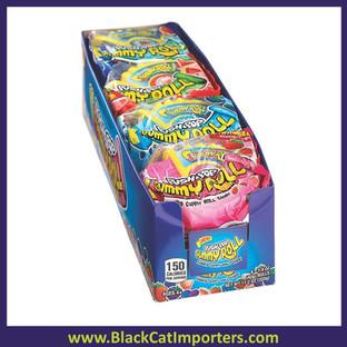 Bazooka Push Pop Gummy Roll 8ct