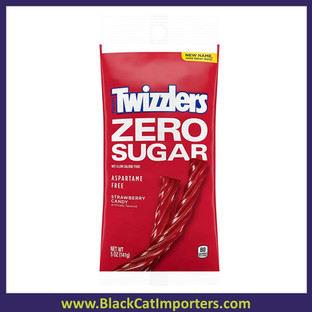 Twizzlers Strawberry Twists Sugar Free Peg Bag  12ct / 5oz