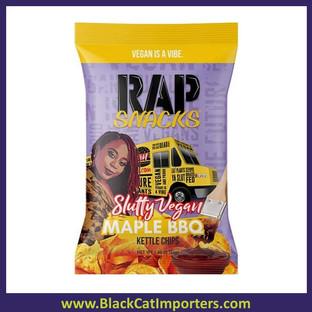 Rap Snack Maple BBQ (Slutty Vegan) 1.88oz 30ct