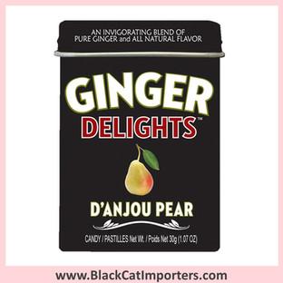 Ginger Delights Hard Candies | D'Anjou Pear
