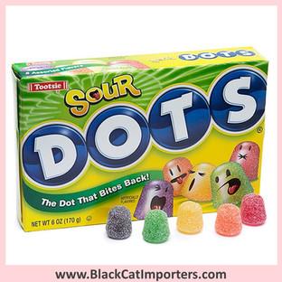 Dots Gummies | Sour | Theater Box