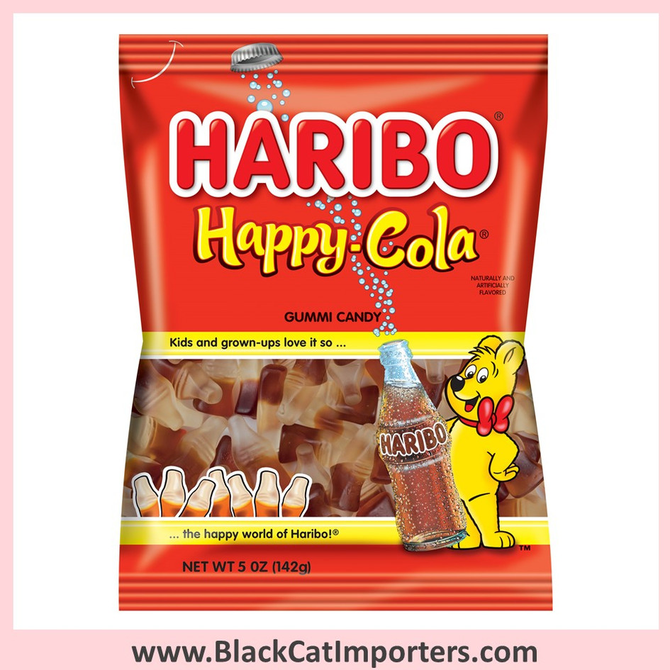 Haribo Gummies / Happy Cola / Peg Bag