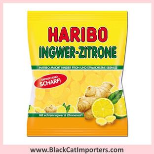 Haribo Gummies / Ginger Lemon / Peg Bag