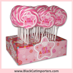 Whirly Pops / 1.5-Ounce/ It's a Girl!