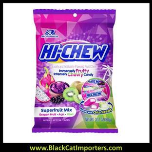 Hi-Chew Bag Superfruit Mix (Acai, Dragon fruit, Kiwi) 3.17oz 1/6ct
