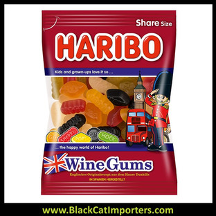 HARIBO WINE GUMS 10/200G