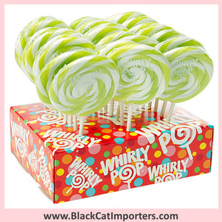 Whirly Pops / 1.5-Ounce/ Bright Green (Apple)