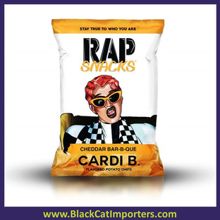 Rap Snacks 1.0 oz Cheddar BBQ (Cardi B) 56ct
