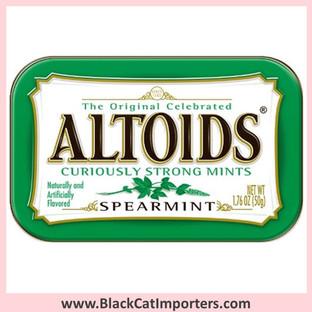Altoids Mints Tins - Spearmint 12-Piece Box