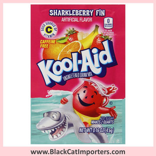 Kool-Aid Unsweetened Drink Mix / SharkleBerry Fin