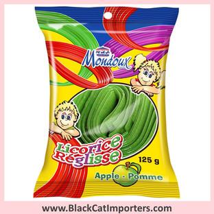 Mondoux Licorice Ribbon / Apple / Peg Bag