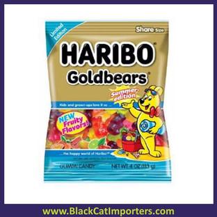 "Haribo ""Summer Edition"" Gold Gummi Bears 4oz 12ct"