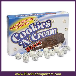 Cookie n Cream Bites Theater Size Packs: 12-Piece Box