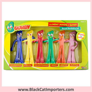 """""""Many Moods of Gumby"""" Bendable Set  2 Pcs/Pack"""
