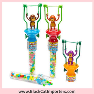 Monkey Swing Toys with Candy 12-Piece Box