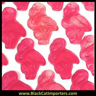 Vidal Bulk Gummy Pink Flamingos 2/2.2lb