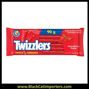 Twizzlers Twists Strawberry 24 x 90g