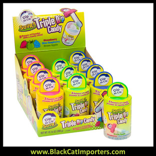 Dip-n-Lik Sour Triple Dip Candy 12ct.