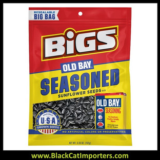 Bigs Sunflower Old Bay Peg Bags 5.35oz 12ct