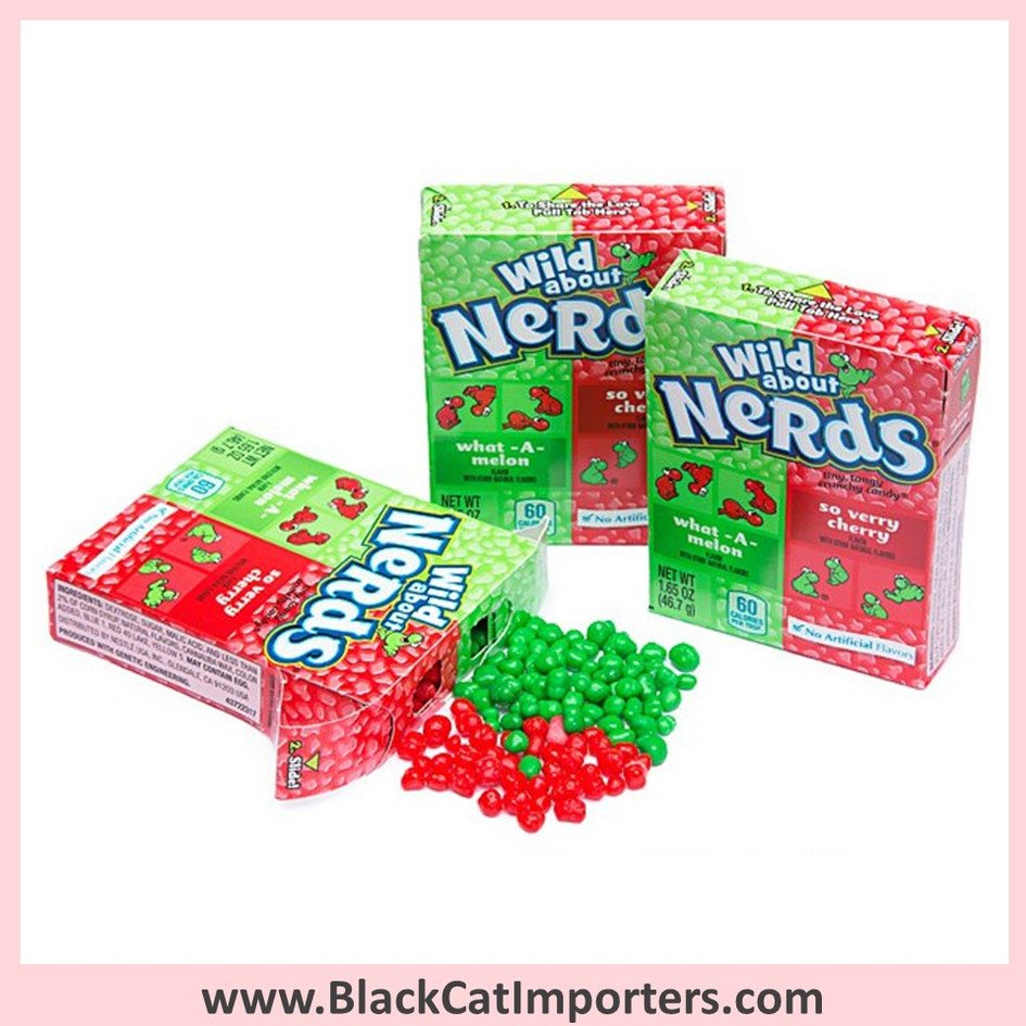 Wonka Nerds / Watermelon & Wild Cherry