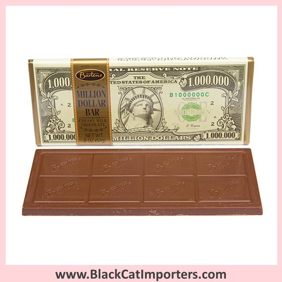 Million Dollar Chocolate Bars / Milk Chocolate