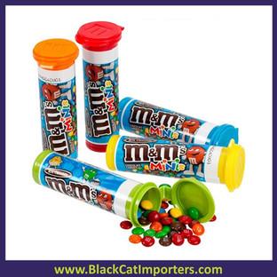 M&M's Mini's Candy Tubes 24ct