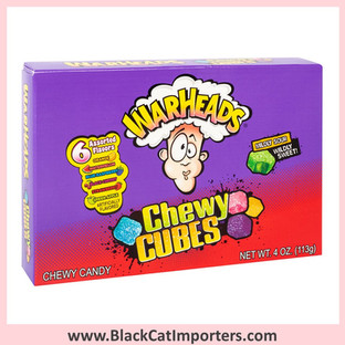 WarHeads Sour Chewy Cubes Theatre Size