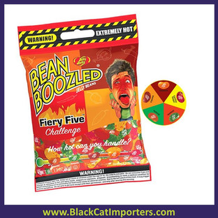 Jelly Belly BeanBoozled Fiery Five Jelly Beans Bag 12/54g