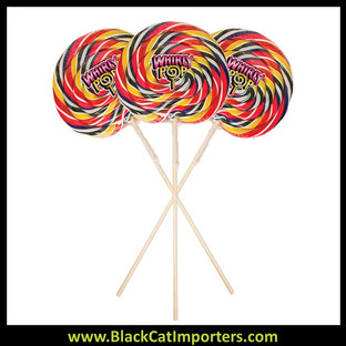 Whirly Pop Giant 3LB Rainbow in Triangle Case- 25 Inches- 4/48 oz (11.5')